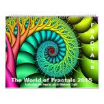 El mundo de los fractales 2015 calendario
