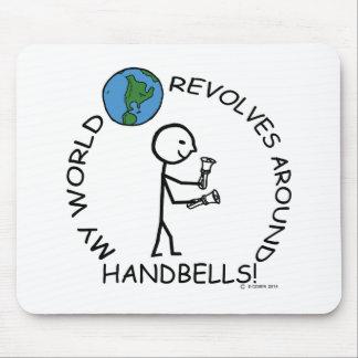 El mundo de los handbells gira alrededor tapete de raton
