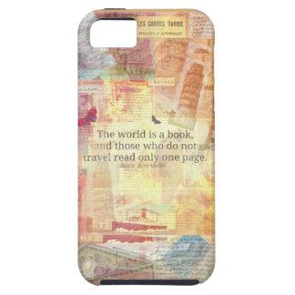 El mundo de St Augustine es una cita del viaje del Funda Para iPhone SE/5/5s