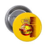 El mundo defiende el futbol 2010 de España Pins