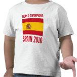 El mundo defiende España 2010 Camisetas