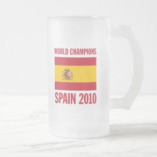 El mundo defiende España 2010 Taza De Café