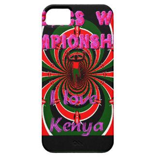 El mundo del atletismo de Hakuna Matata Kenia iPhone 5 Carcasas