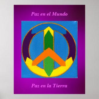 EL Mundo del en de Póster - de Paz
