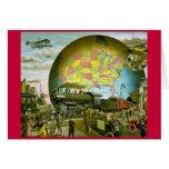 El mundo del transporte 1910 tarjeton