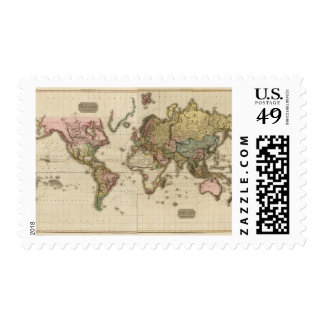 El mundo en la proyección de Mercator