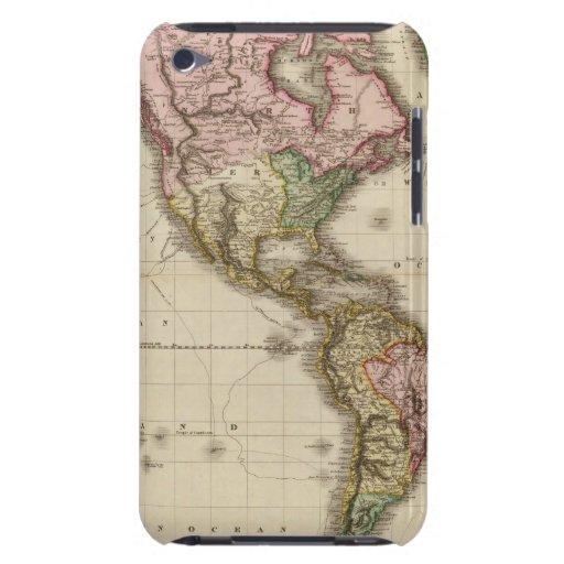 El mundo en la proyección de Mercator, parte occid iPod Touch Coberturas