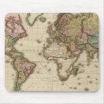 El mundo en la proyección de Mercator Alfombrilla De Raton