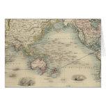 El mundo en la proyección de Mercator Tarjeta De Felicitación