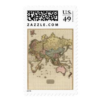El mundo en la proyección de Mercator zona orient