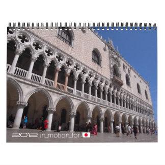 El mundo en las imágenes 2012 (InMotionForJapan) Calendario De Pared