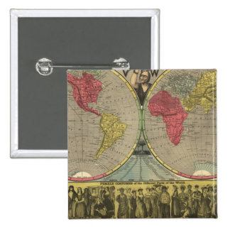 El mundo en una visión pin