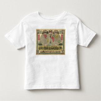 El mundo en una visión t shirt