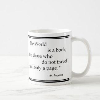 """El """"mundo es taza de un libro… """""""