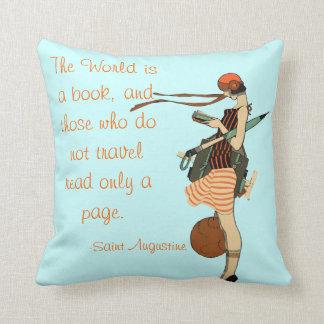 El mundo es un libro almohada