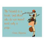 El mundo es un libro postales