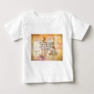 El mundo es un libro y los que no viajan t shirts