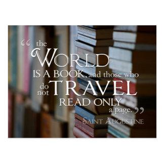 El mundo es una POSTAL del libro