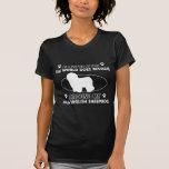 El mundo gira alrededor de mi perro pastor inglés  camiseta