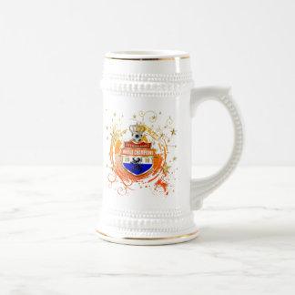 El mundo holandés de las estrellas de fútbol defie taza de café