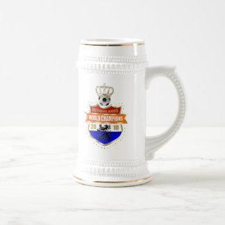 El mundo holandés defiende la insignia 2010 tazas de café