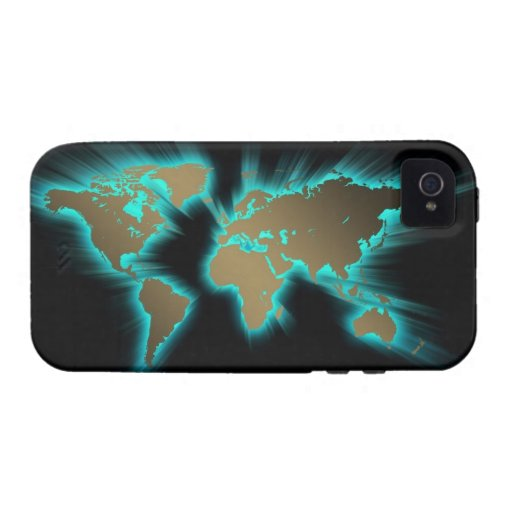 El mundo iPhone 4 carcasa