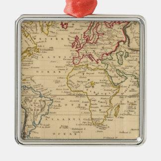 El mundo, la proyección de Mercator Ornamente De Reyes