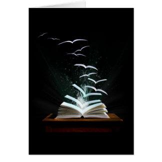 El mundo mágico de la lectura tarjetas