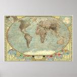 El mundo - mapa de los estereotipos