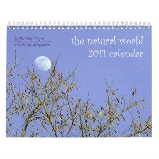 el mundo natural - calendario 2011