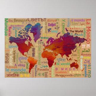 El mundo posters