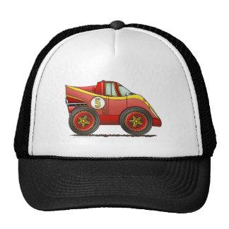 El mundo rojo fabrica los gorras del coche del cam