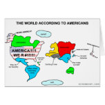 El mundo según americanos felicitacion