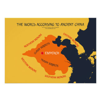 El mundo según China antigua Póster