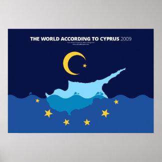 El mundo según Chipre Póster
