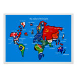 El mundo según escandinavos posters