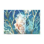 El mundo subacuático 17 estiró la impresión de la  impresiones de lienzo