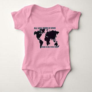 El mundo todo de Beatles que usted necesita es Body Para Bebé