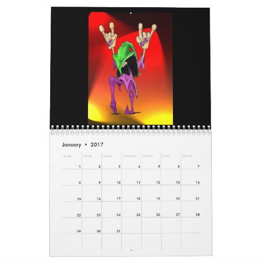 El mundo torcido diseña el calendario 2008