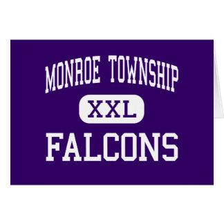 El municipio de Monroe - Falcons - alto - el munic Tarjeta De Felicitación