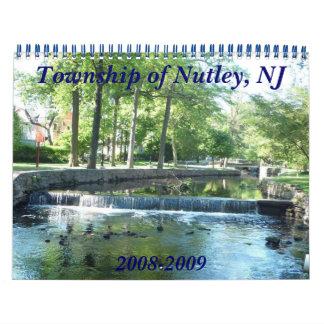 El municipio de Nutley, NJ, 2008 Calendario De Pared