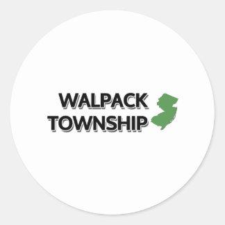 El municipio de Walpack New Jersey