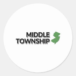 El municipio medio New Jersey