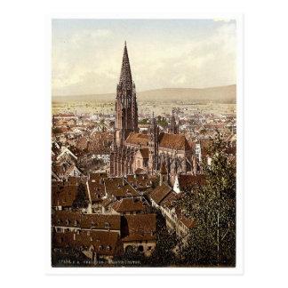 El Munster, Friburgo, Baden, Alemania magnífica Tarjetas Postales