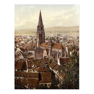 El Munster, Friburgo, Baden, Alemania magnífica Tarjeta Postal