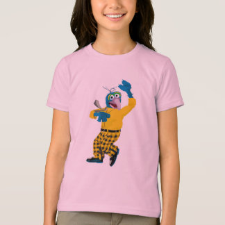 El Muppet Gonzo vestido encima de agitar Disney