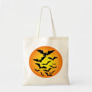 El murciélago de Halloween - Bolsa Tela Barata