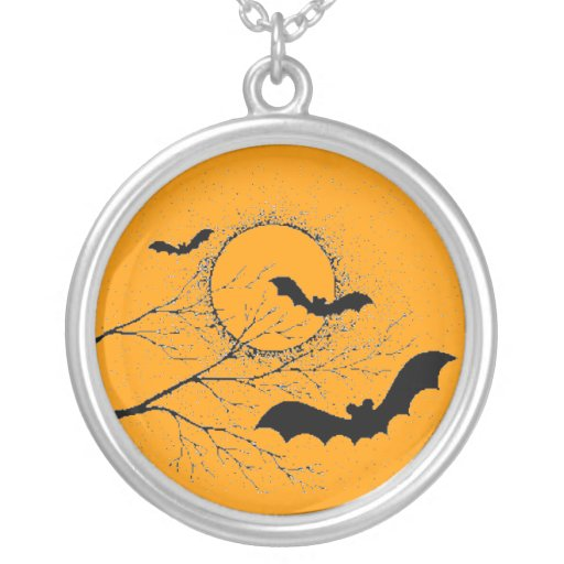 El murciélago de Halloween - Colgante