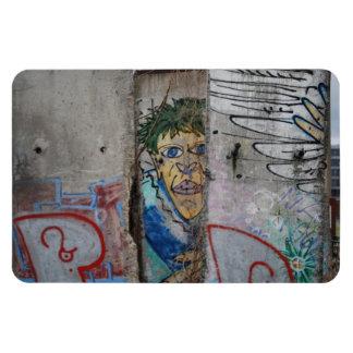 El muro de Berlín - Alemania Imanes Flexibles