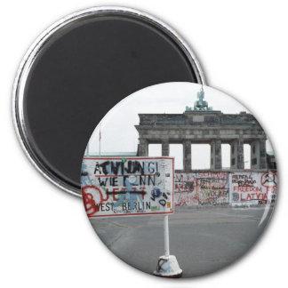 El muro de Berlín Imán Para Frigorifico